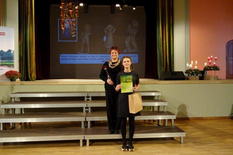 Panākumi Rūdolfa Blaumaņa literārāsprēmijas konkursā