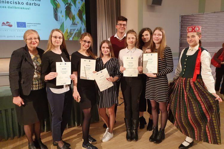 Panākumi Zemgales reģiona skolēnu ZPD 10.konferencē