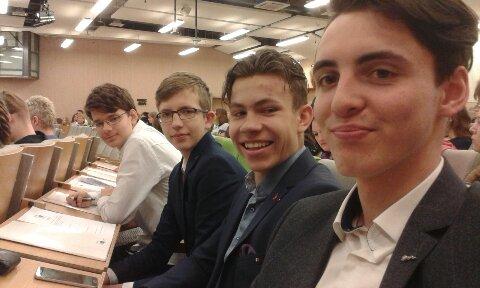Eiropas vēstnieku skolas 2019.gada izlaidums