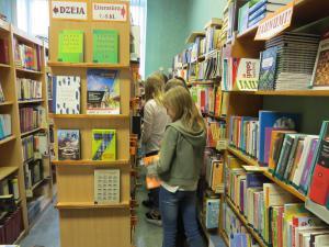 Iepazīšanās ar skolas bibliotēkas darbu