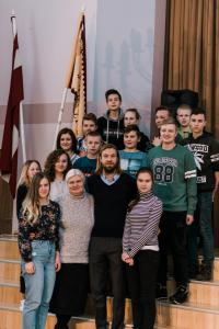Tikšanās ar LFF prezidenta amata kandidātu Kasparu Gorkšu 18.01.2018.