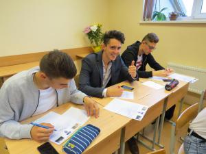 Jubilejas vēstule skolai, tikšanās ar skolas absolventiem